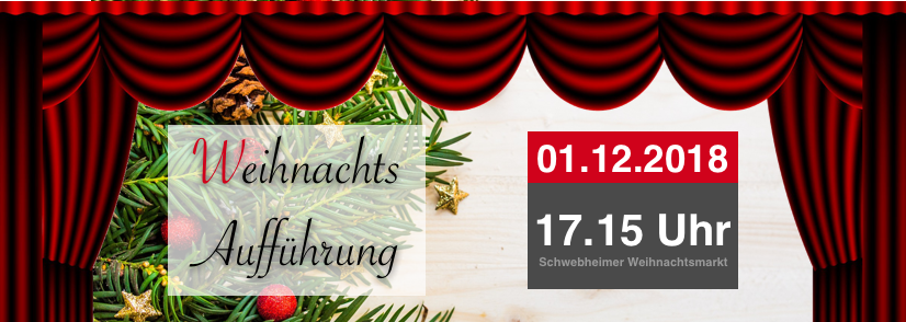 Der Glocken neue Kleider – 01.12 und 02.12 auf dem Schwebheimer Weihnachtsmarkt